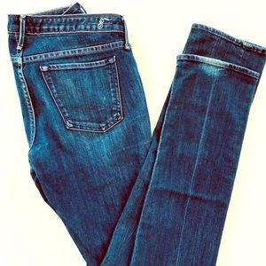 Earnest Sewn Women's Jeans, Medium Wash, 29 Tall